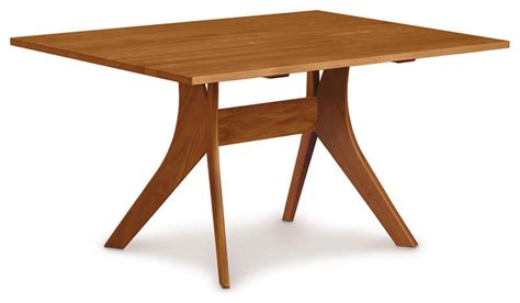 copeland furniture 40 quot x 60 quot fixed top dining table