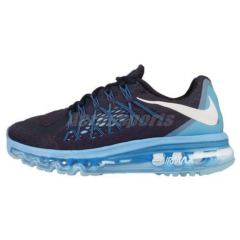 wmns nike air max 2015 navy blue womens running shoes