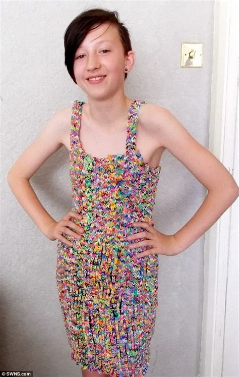 Dress Made From 24k Loom Bands Sells On Ebay For 170k | dress made from 24k loom bands sells on ebay for 163 170k