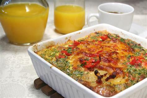 egg strata casserole savory breakfast strata casserole the heritage cook