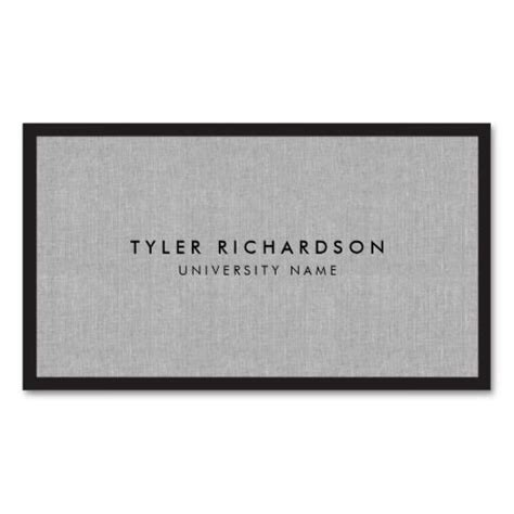 graduate student business cards template professional graduate student business card business