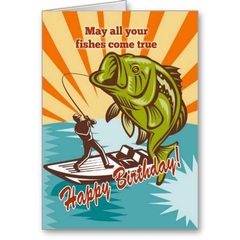 fishing birthday card template 98 best ideas about fishing birthday theme on