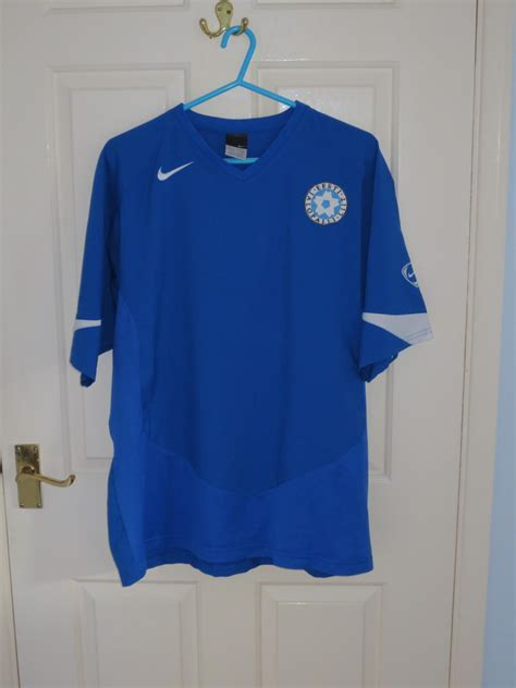 Webe Estonia estonia local camiseta de f 250 tbol 2006 2007 a 241 adido 2014