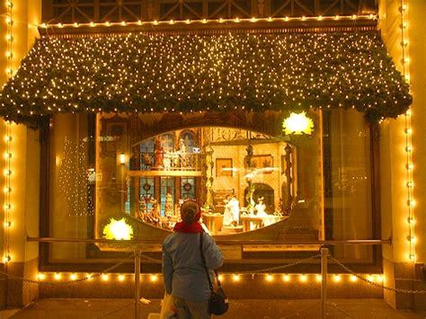 christmas window stores windows nyc at