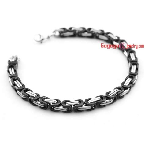 Gelang Stainless Steel Bohemia Open Cuff brown and golden choker and bracelet made of stainless jeepjewelry wholesale sku jp86061