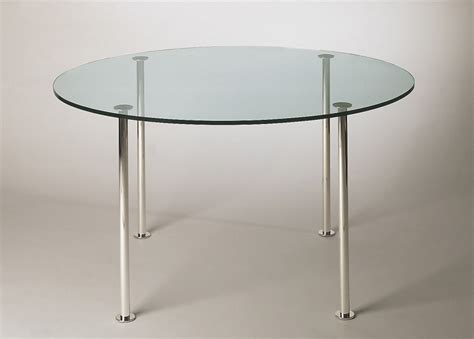 Tonelli Twiggy round glass dining table   round glass