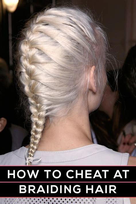 easy hairstyles without braids how to braid hair how to braid and braid hair on pinterest