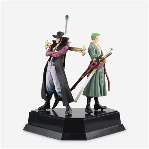 1 Set Sanji Yonji Barto Figure new one roronoa swords katana zoro dracule mihawk pvc figure model mentoring