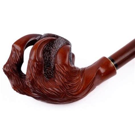 Handmade Pipes - claw carved handmade tobacco pipe