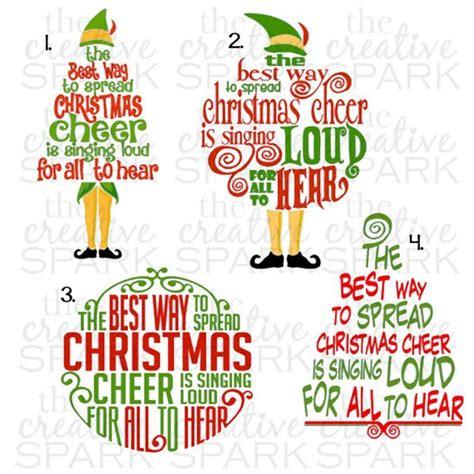 elf quote buddy  elf christmas cheer  thecreativespark buddy  elf quotes elf quotes