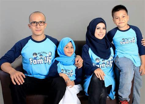 Desain Baju Kaos Keluarga | desain baju muslim keluarga seragam modern terbaru 2016