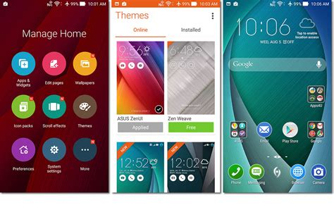 themes asus launcher software asus zenfone 2 review