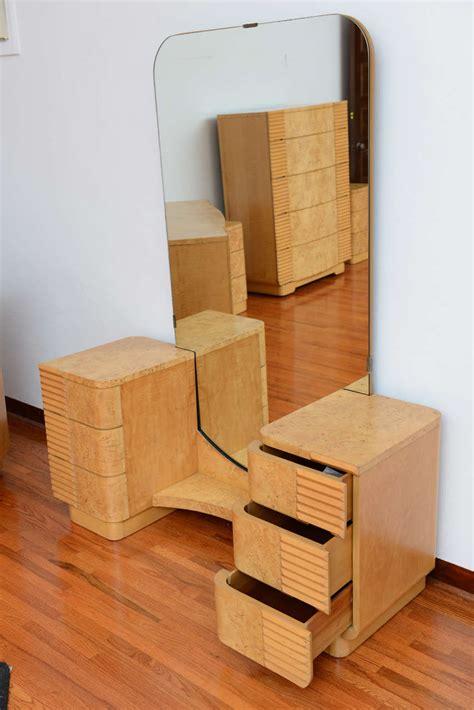 art deco bedroom suite at 1stdibs american art deco 8 piece bedroom suite in burled maple