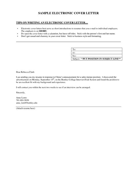 collection of solutions examples of brief cover letters also