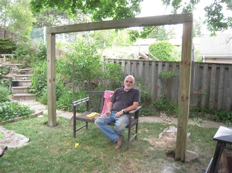 home made swing homemade swing frames pictures to pin on pinterest pinsdaddy