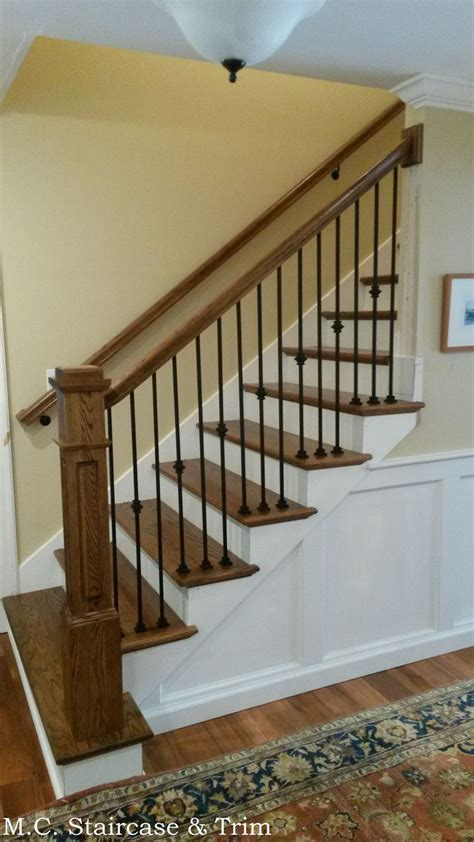 banister railing installation 11 best images about stairs on pinterest carpets the