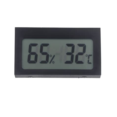 Newmini Lcd Digital Thermometer Hygrometer mini portable digital lcd indoor humidity thermometer hygrometer meter kitchen electronic new
