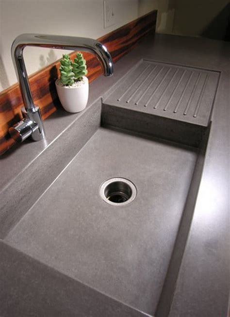 Concrete Countertop With Sink by Concrete Countertop Ideas And Exles Part 1 Of 2 Pictures Removeandreplace