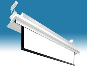 ceiling recessed projector screen raphael in ceiling recessed electric projector screen format