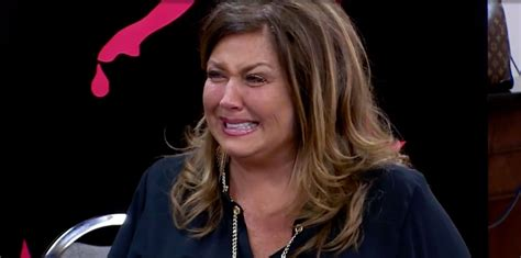 abby lee miller ok magazine video abby lee miller cries before prison in dance moms
