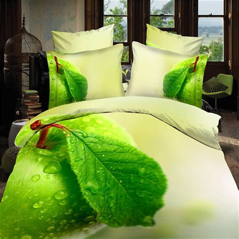 green bed sheets online get cheap apple green bedding sets aliexpress com