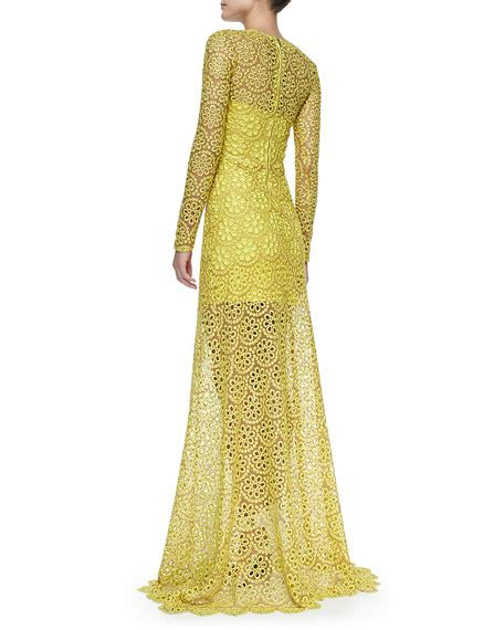 Dress Vicenza vicenza sleeve lace gown