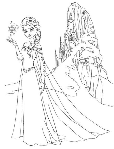 Frozen Coloring Pages 3 Coloring Kids Frozen Princess Pictures To Color