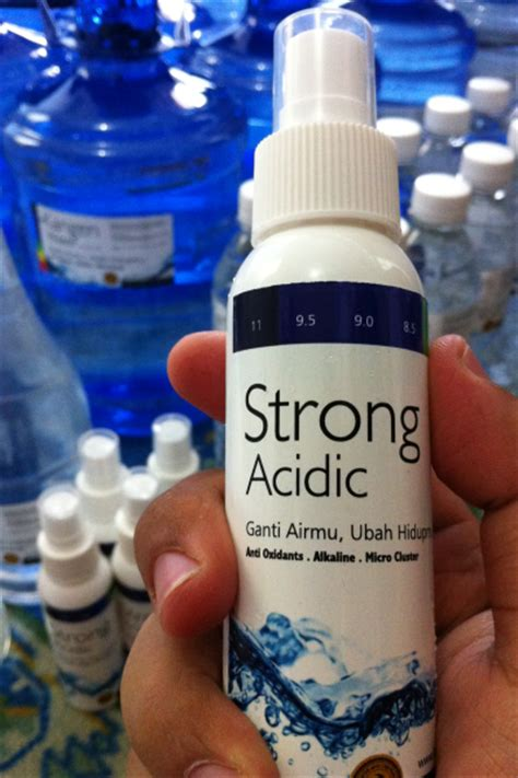 Strong Acidic Water kangen water bogor strong acidic 100ml