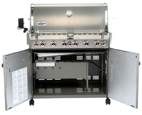 weber summit s 660 6 burner built in outdoor gas