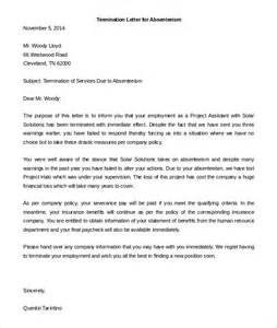 Service Letter To Employee Termination Of Services Letter 7 Free Word Pdf