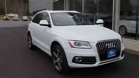 White Audi Q5 by 2015 Audi Q5 Glacier White Metallic Stock 110339