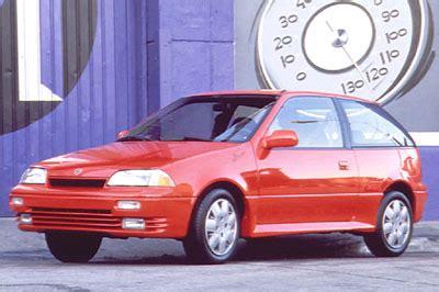 nostalgic subcompact: 1989 1994 suzuki swift gt