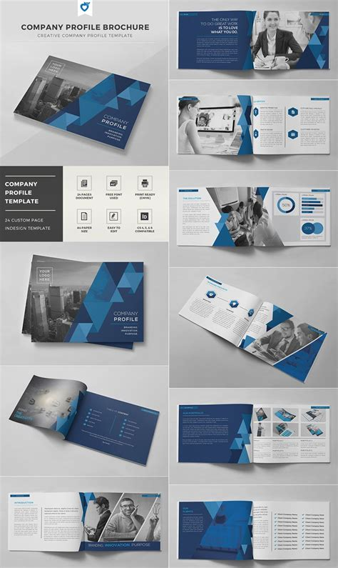 templates for company brochures company profile brochure indd template magazyny x
