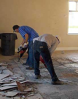 Floor Removal   Level Tech Concrete