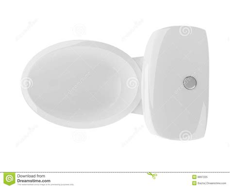 toilet top view clean royalty free stock photo image