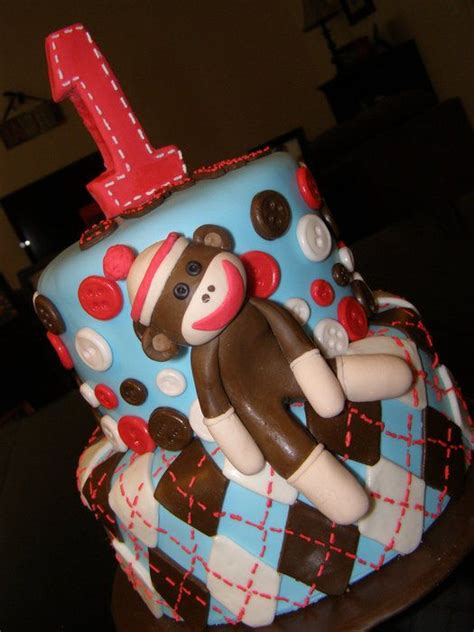 a sock monkey cake discover and save creative ideas