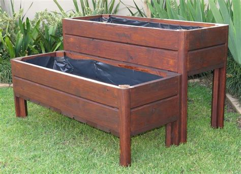 Large Planter Boxes by Wooden Planter Boxes Wood Pioneers Wendy House