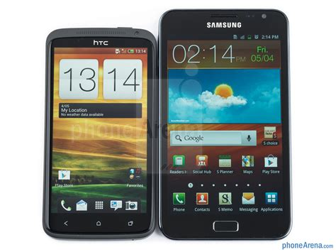x samsung note htc one x vs samsung galaxy note
