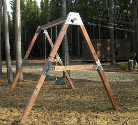 wooden swing set brackets pinterest the world s catalog of ideas
