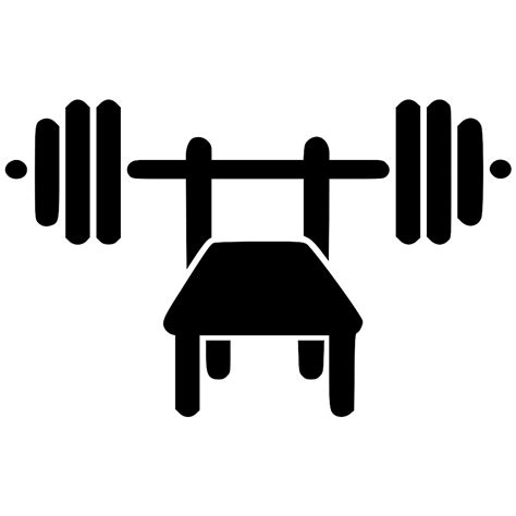 largest bench press bench press svg png icon free download 569161 onlinewebfonts com