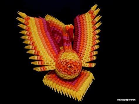 origami 3d phoenix tutorial 3d origami phoenix tutorial 2 3d origami fire bird part 2