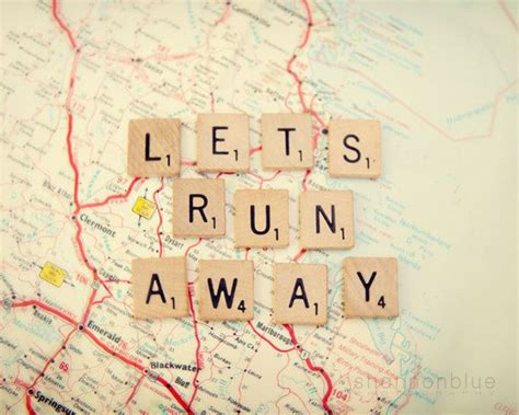 quotes about scrabble travel photography typography map wanderlust adventure