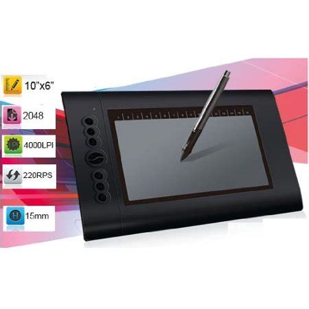 Drawing Tablet Walmart by Mount It Turcom 10 X 6 25 Graphic Drawing Tablet