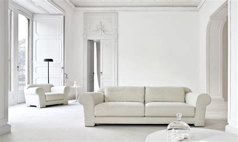 Busnesli White Living Room Interior Design Ideas All White Living Room Furniture