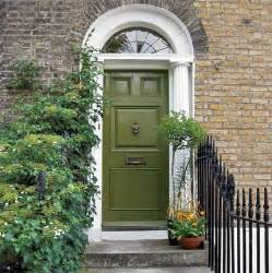 Green Front Door Paint With Brick And Personalize Your Front Door With Paint Colors This House