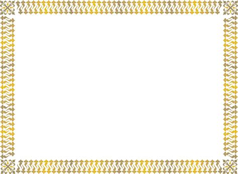certificate border design templates gold award certificate border free printable page borders