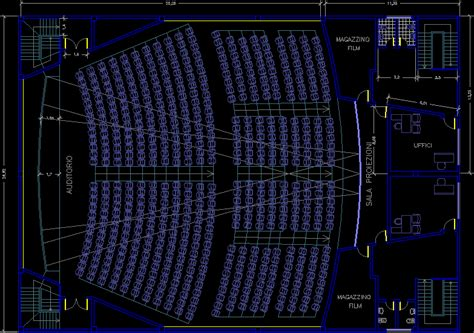 auditorium dwg full project  autocad designs cad