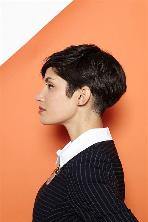 pixie cut stylen styling tipps fuer kurze haare ideen und