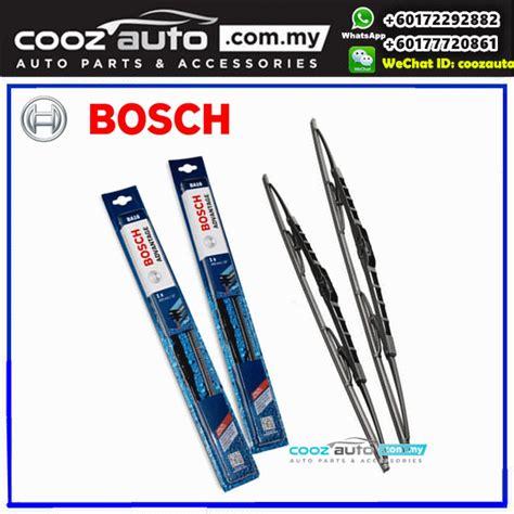 Wiper Innova Sepasang Depan Bosch Advantage honda accord 7th 2003 2007 bosch advantage windshield wiper blades