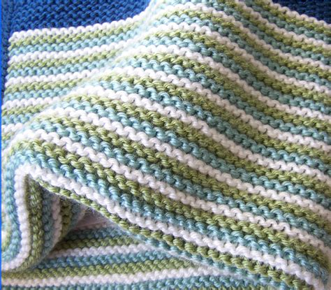 yarn forward knit baby blanket garter stitch knitting yarn